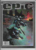 Epic Illustrated #13 August 1982 Marvel Moreno Suydam Veitch VF+ Heavy Metal Art