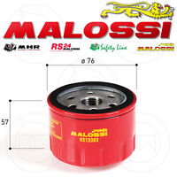 FILTRO OLIO MALOSSI RED CHILLI OIL FILTER PIAGGIO BEVERLY 500 2003-2014