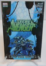Secret Avengers Run the Mission Save the World Marvel HC Hard Cover New Sealed