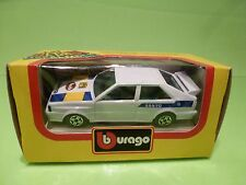 BBURAGO 4159 AUDI QUATTRO GT SANYO - WHITE 1:43 - GOOD IN BOX