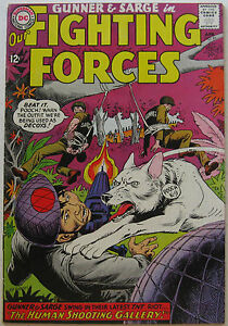 Our Fighting Forces #91 (Apr 1965, DC), VFN condition