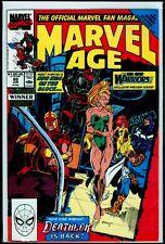 Marvel Comics MARVEL AGE #89 New Warriors NM- 9.2