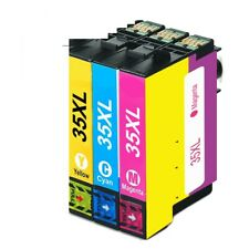Lot Ink Cartridges for Epson Workforce 3 Ink Cartridges for Epson 35XL WF-4730DW