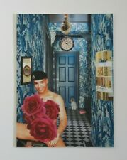 Original Collage 'Down The Hall' by Joyce & Vicky