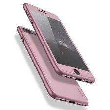 FLOVEME For iPhone 7 7 Plus Case Cover 360 Degree Full Body Tempered Glass For i