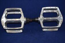 GT Elite Pro platform pedal set 1/2 inch old school bmx silver vintage NOS Alloy
