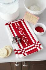 Mud Pie Christmas Kitchen Flour Sack Towel  & Star  Cookie Cutter Gift Set – NEW