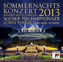 Sommernachtskonzert 2013 de Wiener Philharmoniker, Lorin Maazel | CD | état bon