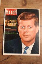 Paris Match Nr.934 März 1967 Ettinger Kennedy Ski Bob Oppie Hallyday Vartan