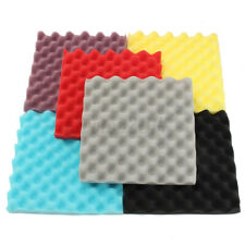 1PC 30x30x3cm Egg Crate Soundproofing Acoustic Wedge Foam Tiles Wall
