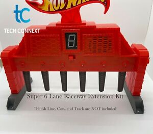 Super 6 Lane Raceway Extension Kit (w Monster truck risers) and Spacer