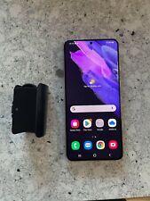 Samsung Galaxy S21 Plus 5G SM-G996U1 128GB Unlocked USED Violet Warranty 8/4/22