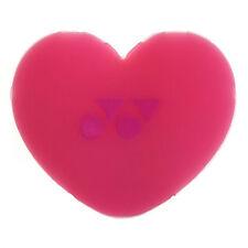 Yonex Heart Vibration Dampener - Tennis Racket Dampener - Pink - Free P&P