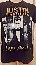 Justin Timberlake Small Graphic Tee T Shirt 20/20 Experience Tour 2014 Concert