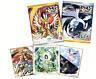 Pokemon Collection BANDAI Shikishi Colored Paper ART2 Shokugan 10 pieces Japan