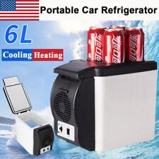 12V 6L Electric Cooler Warmer Car Home Refrigerator Portable Travel Food Fridge