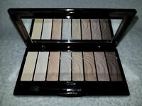 No7 Stay Perfect Eye Shadow Palette NUDE 8 Colors Mirror Full Sz .33 oz/9.6g New