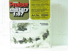 Preiser H0 16592 Infanterie gehend Winteruniform OVP (y2062)