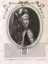 Philippe III le Hardi Roi de France par Nicolas II de Larmessin C 1686