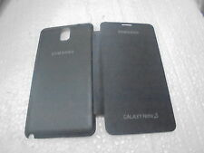 for samsung galaxy note 3 n9000 n9005 flip case back cover new black 1+1 free