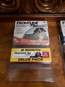 Frontline bundle Plus Dog Value Pack Flea Tick Lice Treatment lot 8 Doses $80
