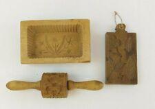 Holz Butterformen um 1900