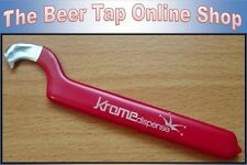 Beer Tap Faucet Spanner Wrench. Used to attach faucet to coupling nut on shank .