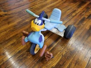 Looney Tunes Hedstrom Road Runner Tricycle Full Size Vintage Foam good condition