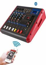 New Powered Mixer with 600W Amplifier Built-in,Studio Live Karaoke PMR506