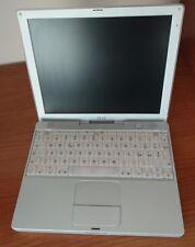 """NoteBook APPLE iBook G3 A1005 12,1"""" Da Collezione, vintage, no alimentatore"""