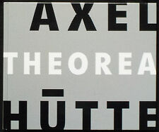 Axel HÜTTE. Theora. Fotomuseum Winterthur - Schirmer/Mosel, 1996. E.O.