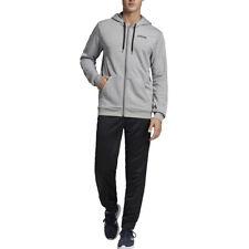 Adidas Tuta Uomo Linear French Terry Grigia Codice EI5558