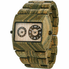 Wewood Jupiter Wristwatch Army Wood Watch New In Box Free Shipping Authentic