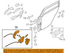 SUBARU OEM 10-14 Legacy Rear Door-Lock Actuator Motor 61035AJ01A
