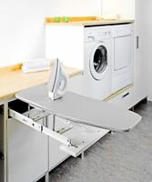 Pelly Kitchen Built in Foldaway Drawer Fix Ironing Board