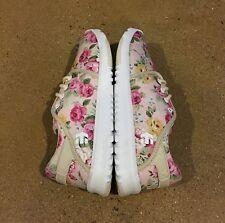 Etnies Scout Women's White Fuchsia Size 9.5 US Running Skate Shoes Lightweight