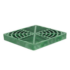 """Storm Drain FSD-120-SF Replacement 12"""" Catch Basin Grate - Green"""