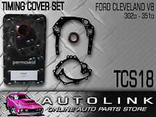 TIMING COVER GASKET SET FORD CLEVELAND V8 302 351 400 BRONCO F SERIES F100 F250