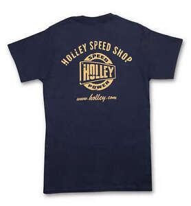 Holley 10132-LGHOL Speed Shop Pocket T-Shirt
