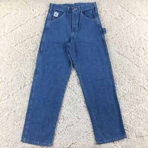 Vintage Pointer Brand Men's 29x31 Carpenter Denim Jeans Work Pants Made USA