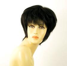 wig for women 100% natural hair black ref MARY 1B PERUK