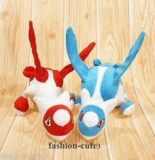 "2pcs Lot New Pokemon Center Latias and Latios Figure Soft Plush Toy Doll 12"""