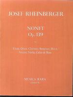 Josef Rheinberger - Nonet Op. 139 - Flute, Oboe, Clarinet, Bassoon, Horn, Violin