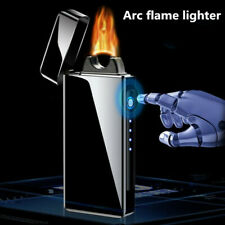 New Creative Arc flame Windproof lighter USB charging Plasma Electronic lighters