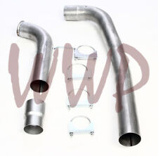 "Off Road Race 4"" Down Pipe Kit 03-07 Ford F250/F350 6.0L V8 Turbo Diesel Pickup"