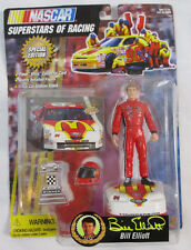 Toy Biz NASCAR 1997 - Bill Elliot Superstars of Racing - Fleer Ultra Card Figure