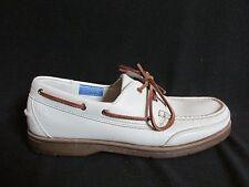 Rockport Washable Leather  Footwear Boat Shoes Bone  Men US 11M