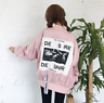 Womens BF Style Baseball Harajuku Sweet Lolita Loose Coat Fashion jacket Autumn