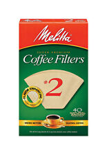 Melitta  4 - 6 cups cups Cone  Coffee Filter  40 count
