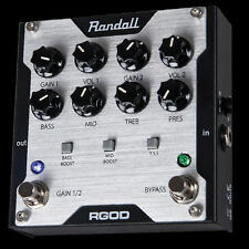 Randall Amplification RGOD 2 Channel FET Guitar Preamp Pedal